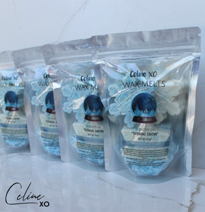 [LAST - UNLABELLED] Snowflake Wax Melts-Celine XO