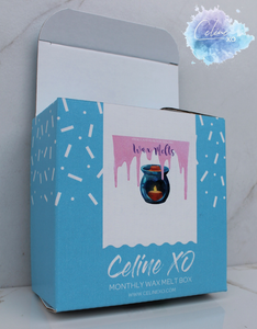 Wax Melt *MONTHLY BOX*-Celine XO