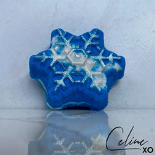 Load image into Gallery viewer, Snowflake Bath Bomb-Celine XO