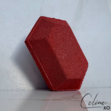 Load image into Gallery viewer, Super Ruby Gem Stone Bath Bomb-Celine XO