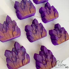 Load image into Gallery viewer, [LAST TWO] Amethyst Crystal Cluster Bath Bomb-Celine XO