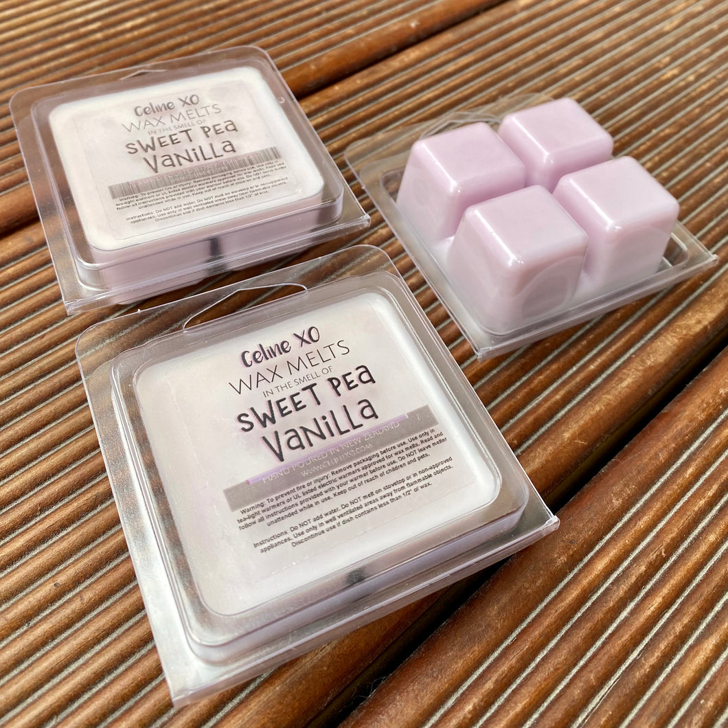 Sweet Pea Vanilla - Wax Melts