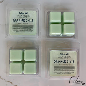 Coconut Lime Wax Melts-Celine XO