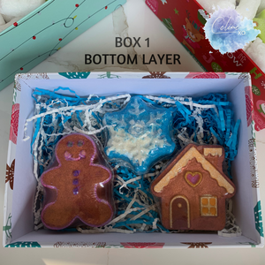 Christmas Bath Bomb Gift Boxes