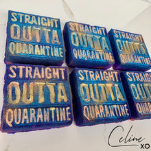 "Load image into Gallery viewer, ""Straight Outta Quarantine"" Bath Bomb-Celine XO"