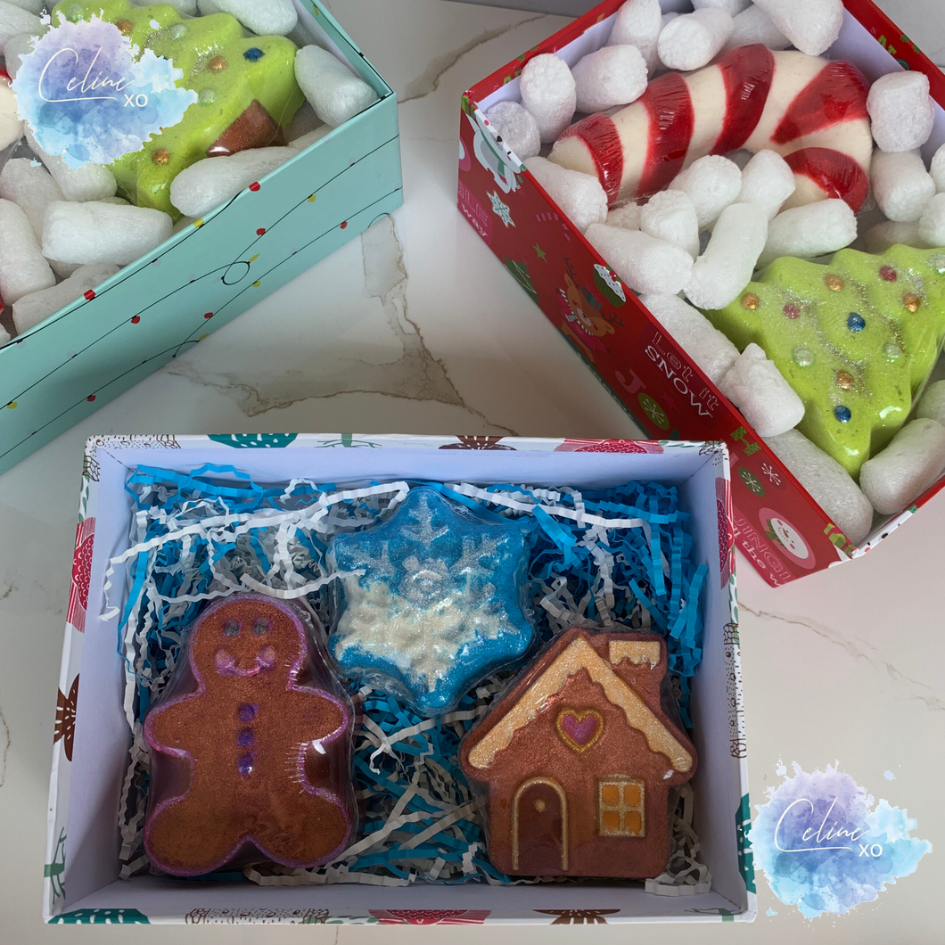 [LAST ONE] Christmas Bath Bomb Gift Boxes-Celine XO
