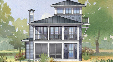 Regatta House Plan Highlight