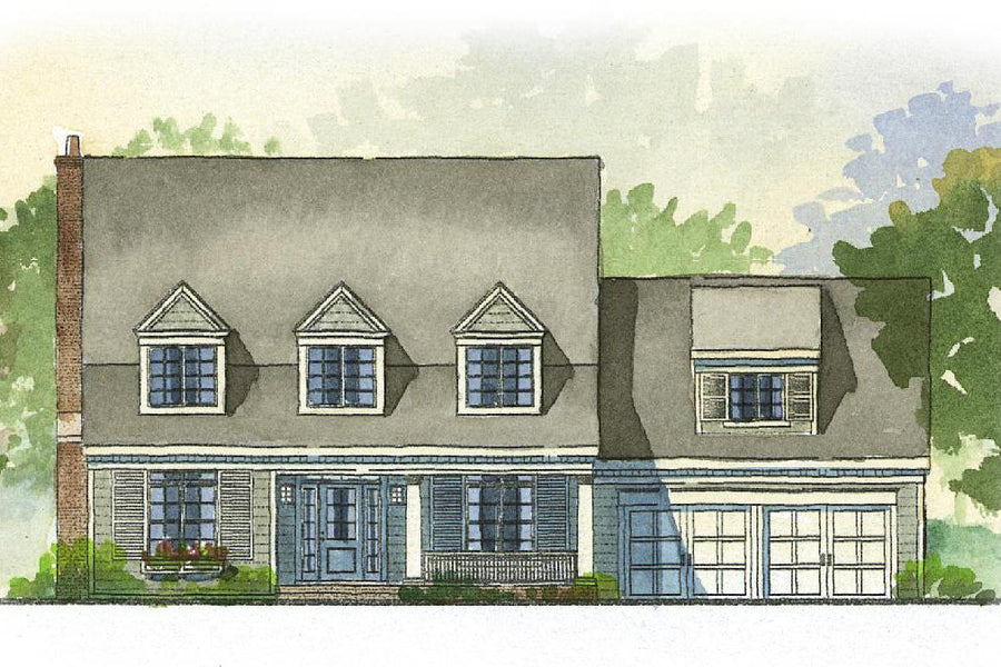 Auburn Residential House Plan SketchPad House Plans