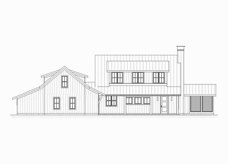 Audobon Residential House Plan SketchPad House Plans