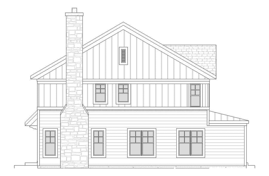 Bellclaire Residential House Plan SketchPad House Plans
