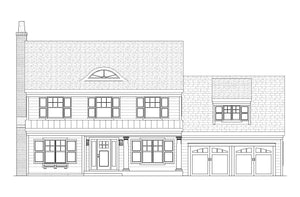 Belvedere Residential House Plan SketchPad House Plans