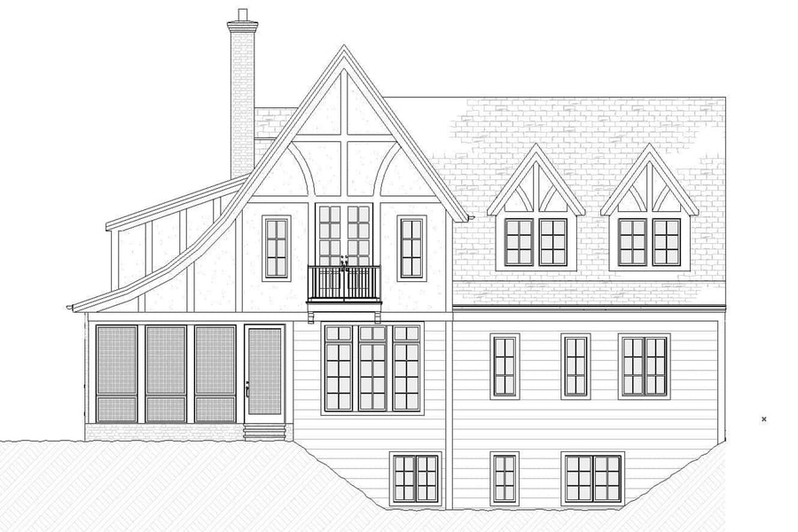Charleston Residential House Plan SketchPad House Plans