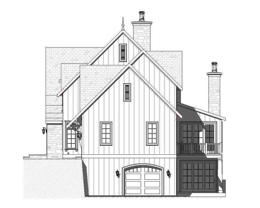 Cranbrook Residential House Plan SketchPad House Plans