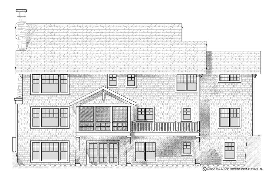 Dover Residential House Plan SketchPad House Plans