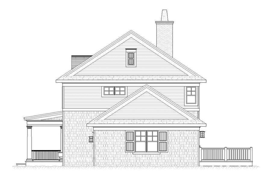 Durham Residential House Plan SketchPad House Plans