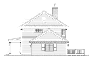 Eastlawn Residential House Plan SketchPad House Plans