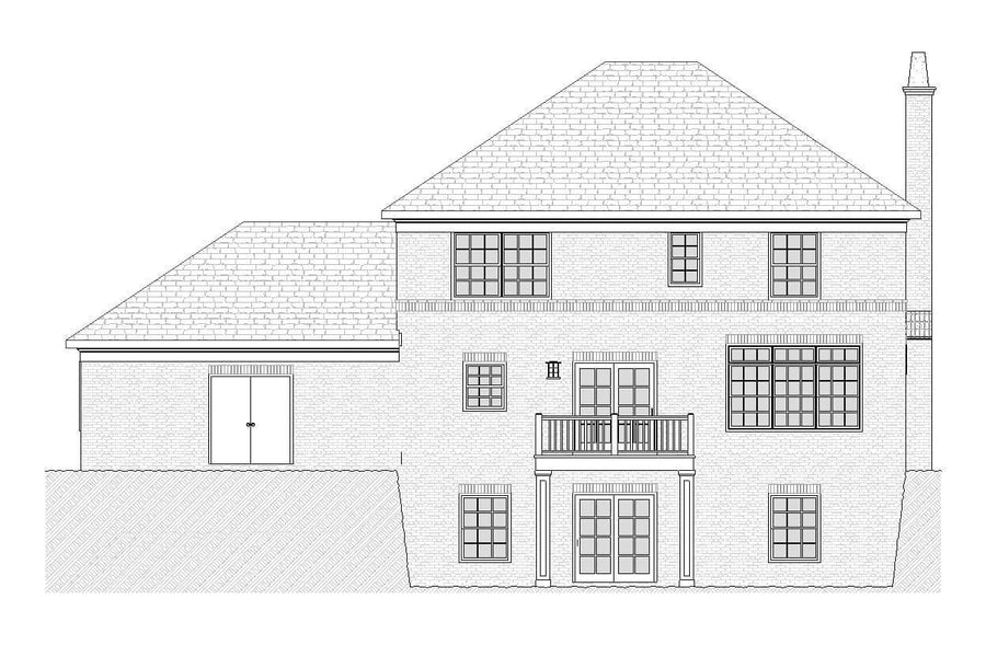 Fisk Residential House Plan SketchPad House Plans