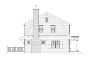Floral Residential House Plan SketchPad House Plans