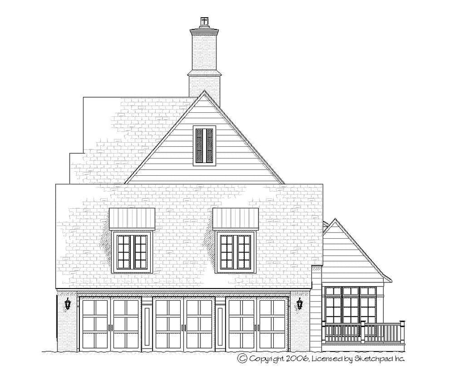 Georgia Residential House Plan SketchPad House Plans
