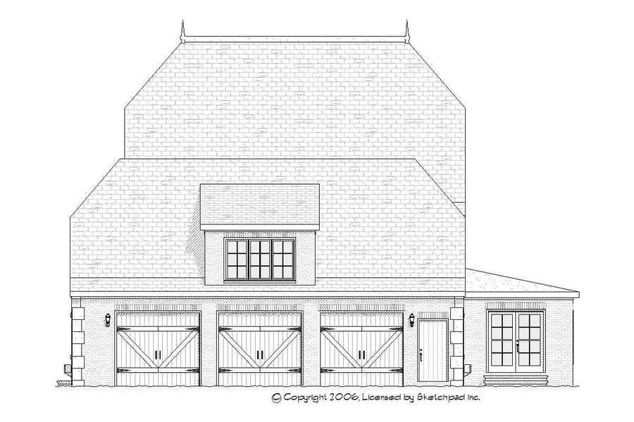 Hampton Residential House Plan SketchPad House Plans