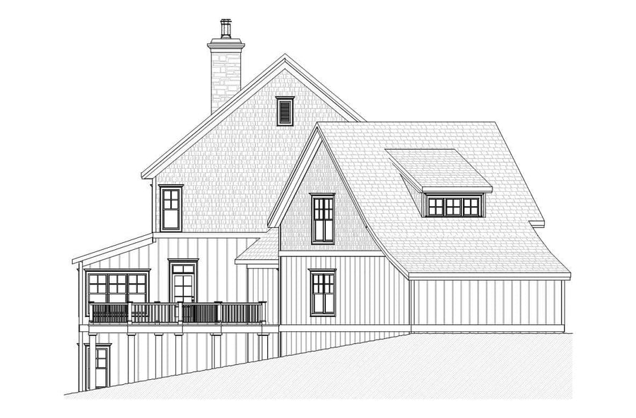 Hawthorne Residential House Plan SketchPad House Plans