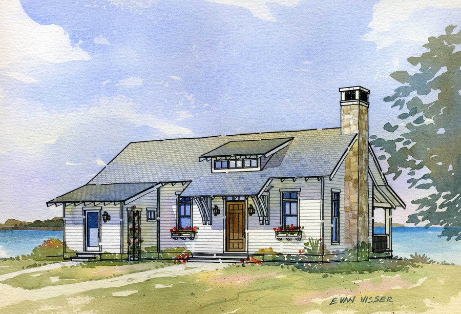 Heron Residential House Plan SketchPad House Plans