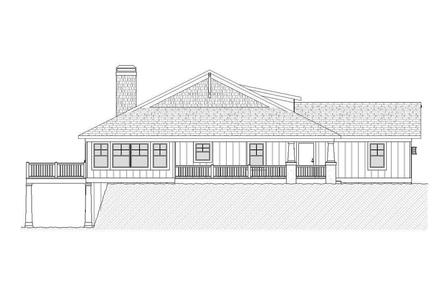 Inglenook Residential House Plan SketchPad House Plans