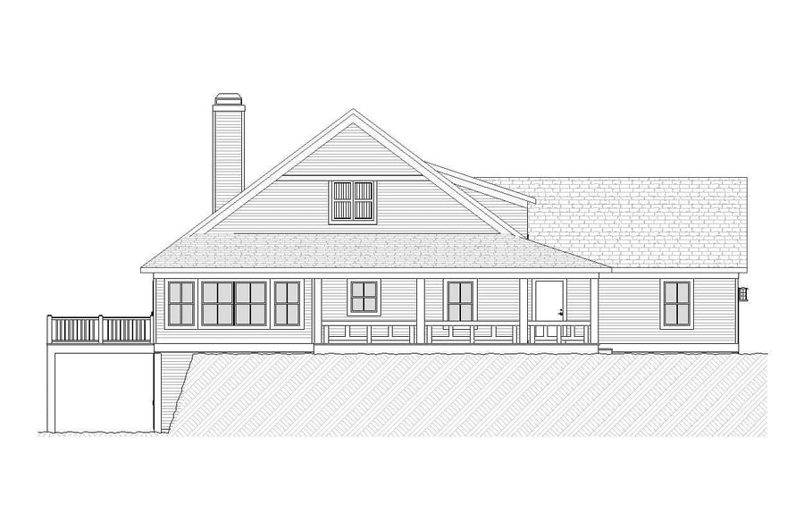 Irvine Residential House Plan SketchPad House Plans
