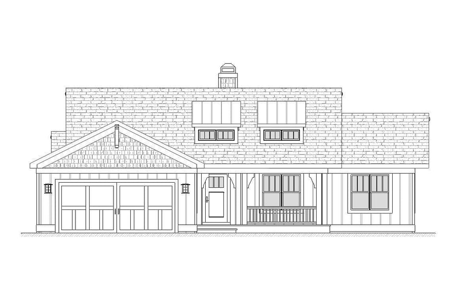 Jersey Residential House Plan SketchPad House Plans