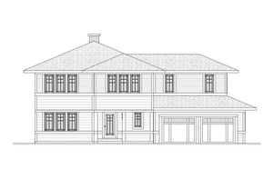 Lake Drive Residential House Plan SketchPad House Plans