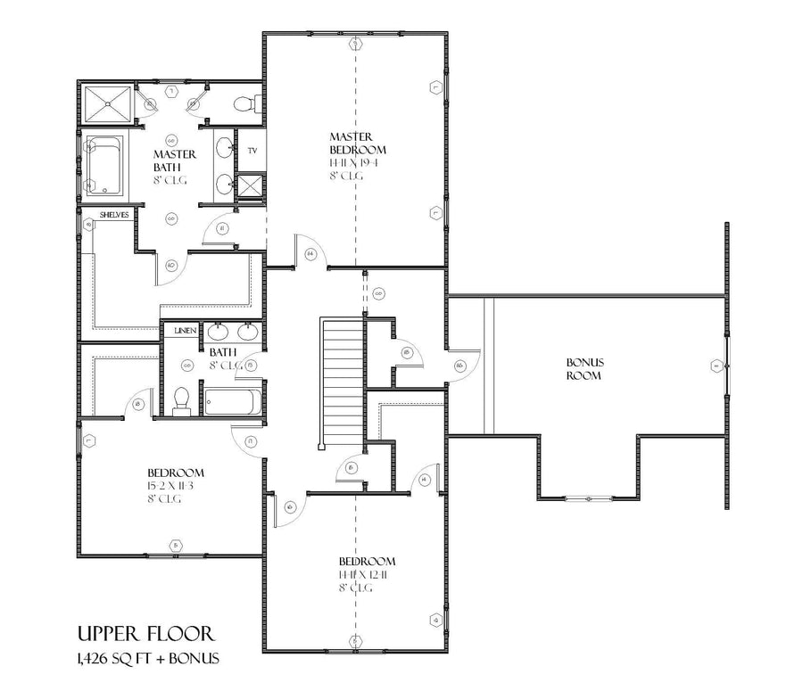 Lenox Residential House Plan SketchPad House Plans