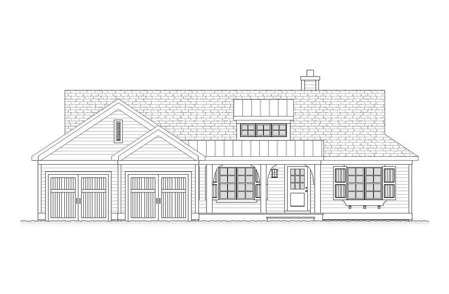 Lunar Residential House Plan SketchPad House Plans
