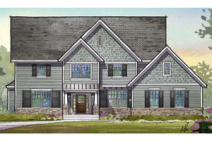 Madison Residential House Plan SketchPad House Plans