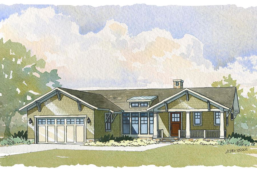 Manteo Residential House Plan SketchPad House Plans