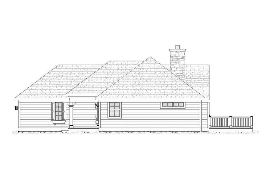 Mesquite Residential House Plan SketchPad House Plans