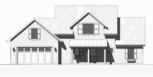 Tall Cedar Residential House Plan SketchPad House Plans