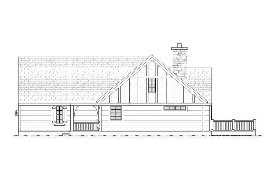 Montana Residential House Plan SketchPad House Plans