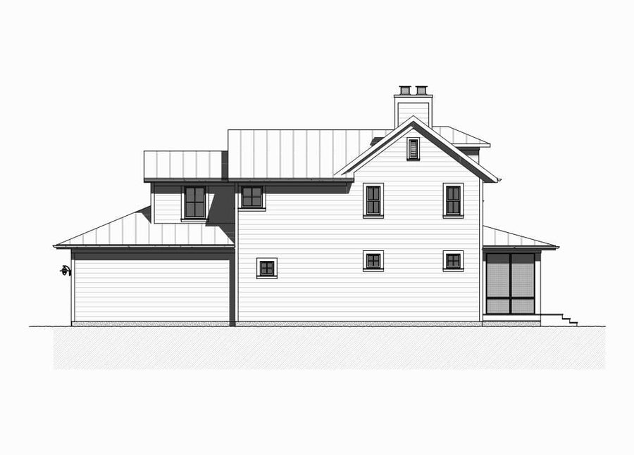 Montego Residential House Plan SketchPad House Plans