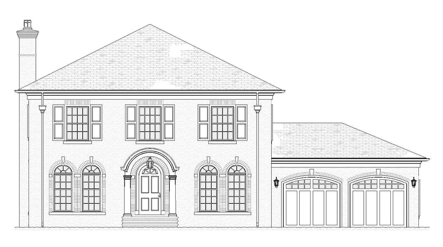 Newport Residential House Plan SketchPad House Plans