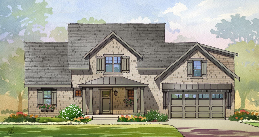 Penwood Residential House Plan SketchPad House Plans