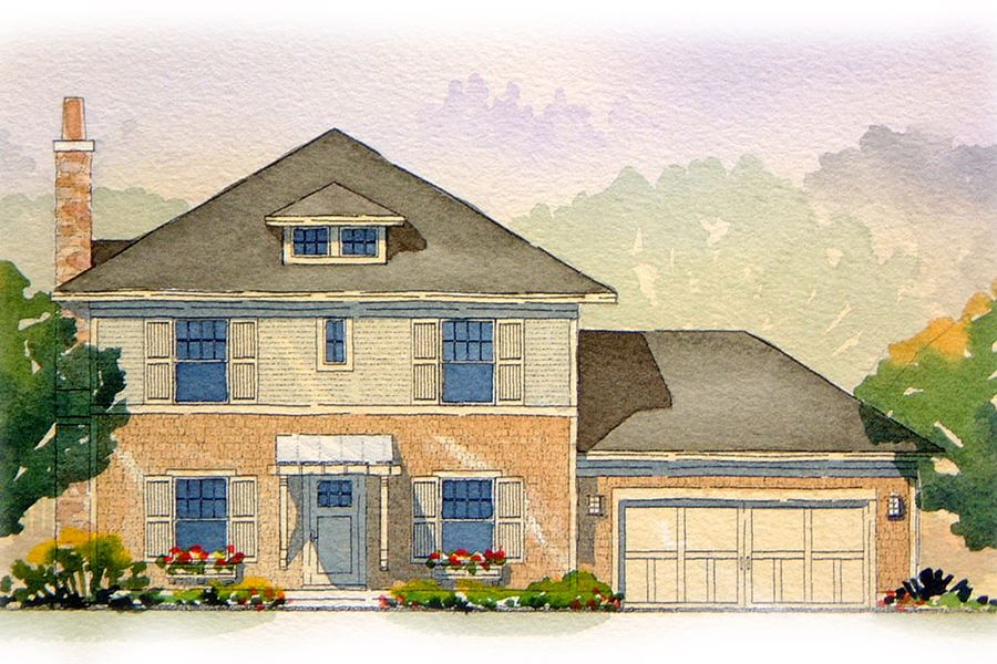 Persimmon Residential House Plan SketchPad House Plans