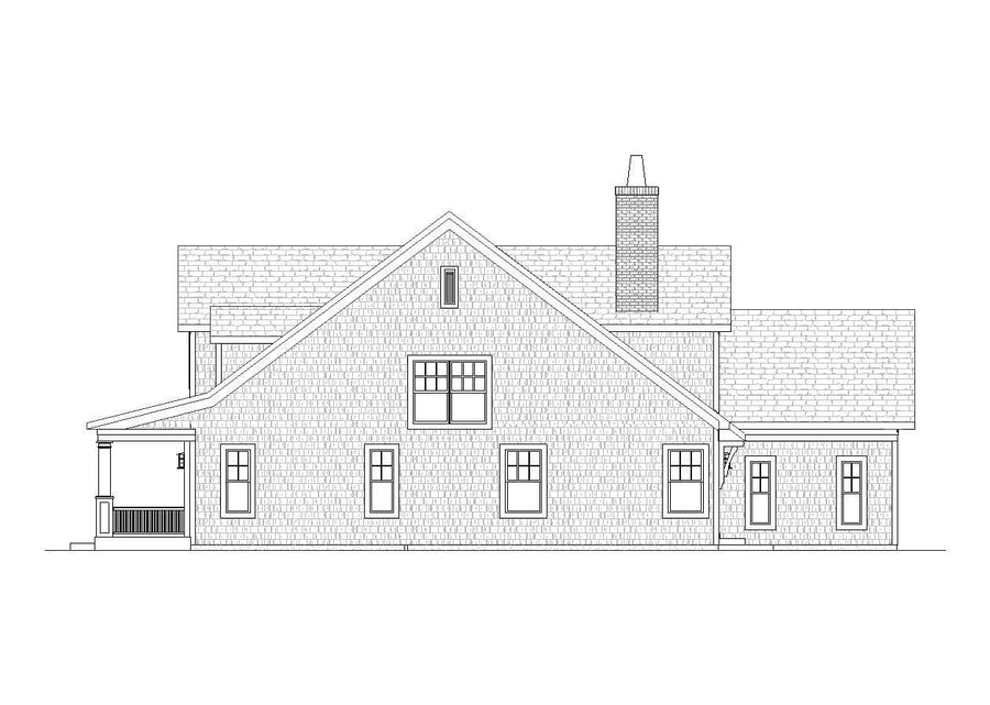 Pinecrest Residential House Plan SketchPad House Plans