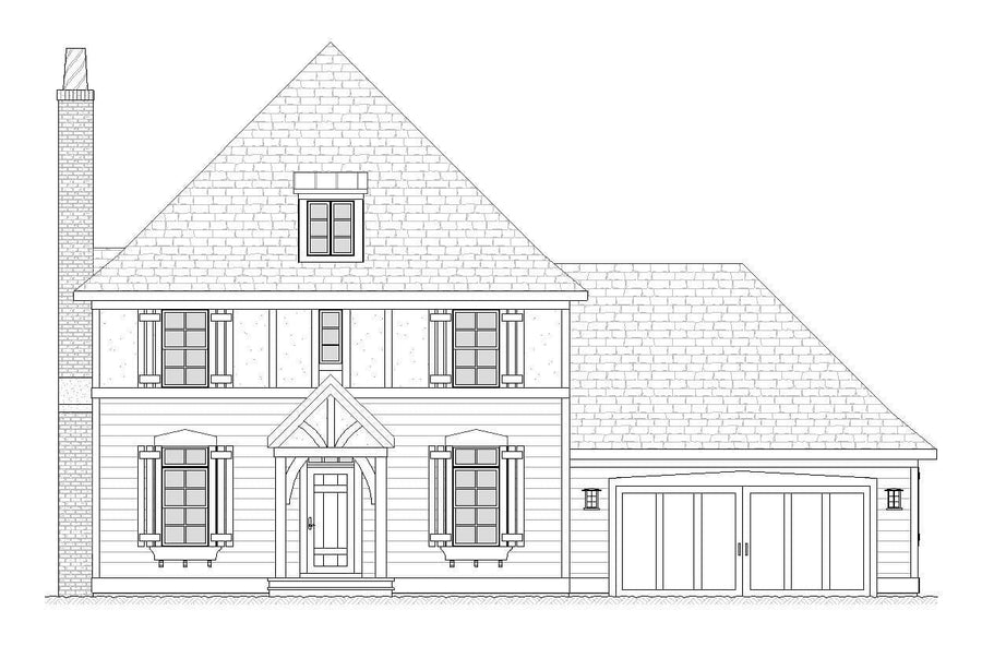 Pullman Residential House Plan SketchPad House Plans