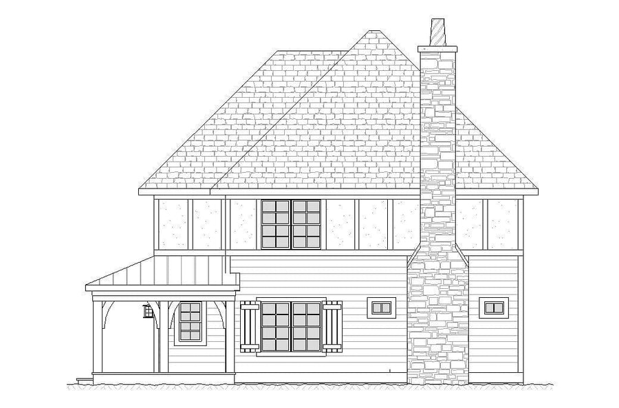 Quincy Residential House Plan SketchPad House Plans