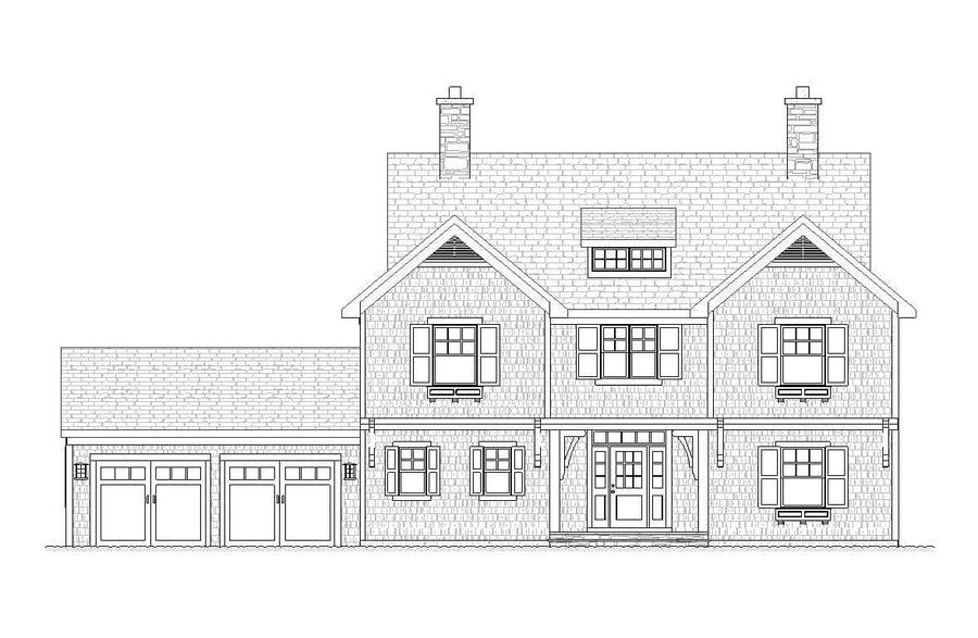 Reston Residential House Plan SketchPad House Plans
