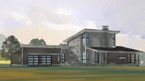 Ridgeview Residential House Plan SketchPad House Plans
