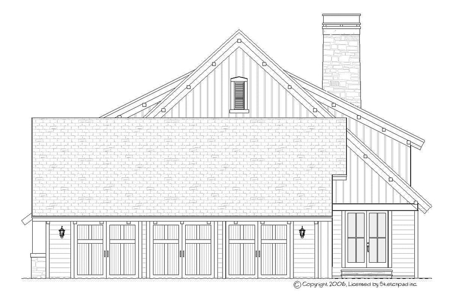 Alpine Residential House Plan SketchPad House Plans