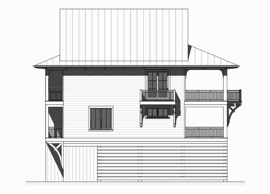Rosemary Residential House Plan SketchPad House Plans