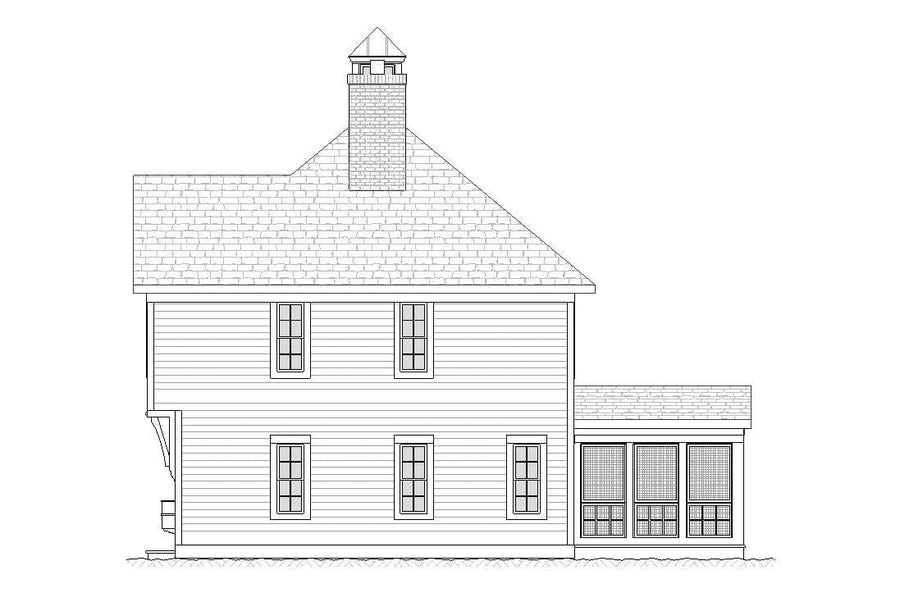 Sandusky Residential House Plan SketchPad House Plans