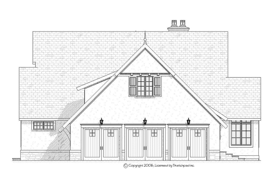 Spring Hill Residential House Plan SketchPad House Plans
